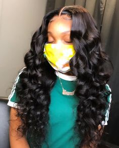 Asteria Hair Long Body Wave Hair Lace Front Wigs For Women Pre-Plucked Natural Real Human Hair Lace Wigs Black Girl Braided Hairstyles, Long Weave Hairstyles, Frontal Hairstyles, Baddie Hairstyles, Hairstyle Men, School Hairstyles, Funky Hairstyles, Summer Hairstyles, Wedding Hairstyles