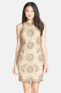 06ed0142bc8 Adrianna Papell Beaded Cutaway Sheath Dress available at  Nordstrom Fraque