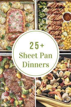 Recipes- Easy Dinner Ideas  Sheet Pan Dinner Recipes - The Idea Room