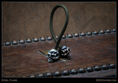 Steel Flame - Begleri, Warrior Beads
