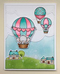 Mocha Frap Scrapper: Birthday Balloon Ride