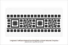 motifs from Basarabia Creative Embroidery, Folk Embroidery, Beading Patterns, Knitting Patterns, Romanian Lace, Point Lace, Couture, Traditional Art, Textile Design