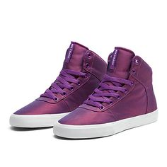 WMNS CUTTLER PINK/PURPLE-WHITE | Official SUPRA Footwear Site