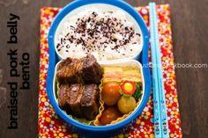 Braised Pork Belly Bento | JustOneCookbook.com