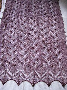 Lacey crafts, by Liina: knitting. lace knitting
