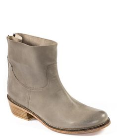 Gray Bone Plaza Ankle Boot by Adam Tucker. not entirely sure how to wear but still like. also in brown