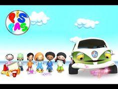 """Serie infantil PISPAS - Videoclip """"Separar y reciclar con PISPAS"""""""