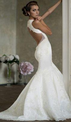 Aisle Style: Stunning Mermaid Wedding Dresses! - Wedding Party