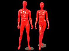 We have red hot mannequins for your Valentine's window displays. They are $190 each