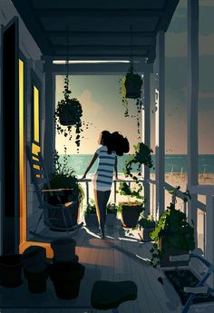 Dusk by Pascal Campion