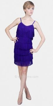 Purple Flapper Dresses by eDressMe on shopstyle.com