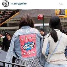 www.dariaymaria.com #manrepeller #wow #popart #popartjacket #aloha #london #miami #leandramedine