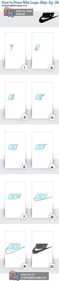 How to Draw Nike Logo, Step-by-Step