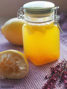 Petarda dla odporności - syrop z miodu, imbiru i cytryny Smoothie, Fruit Recipes, Healthy Drinks, Health Tips, Detox, Healthy Lifestyle, The Cure, Health And Beauty, Remedies