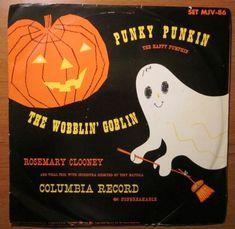 Punky Punkin and The Wobblin' Goblin Halloween Signs, Vintage Halloween, Halloween Fun, Scary Movies, Horror Movies, Spooky Music, Rosemary Clooney, Happy Pumpkin, Halloween Celebration