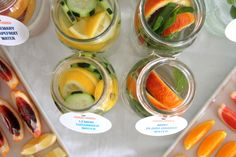 new detox water recipes   kojodesigns @Melissa Reyes