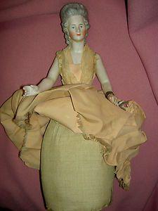 Half doll pin cushion
