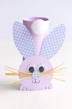 This list of simple Easter crafts for kids is absolutely adorable! From egg carton chicks to cotton ball bunnies there are tons of Easter craft ideas here! images paper crafts Simple Easter Crafts for Kids - One Little Project Paper Plate Crafts For Kids, Fun Easy Crafts, Easy Easter Crafts, Bunny Crafts, Easter Art, Easter Crafts For Kids, Toddler Crafts, Easter Bunny, Easter Decor