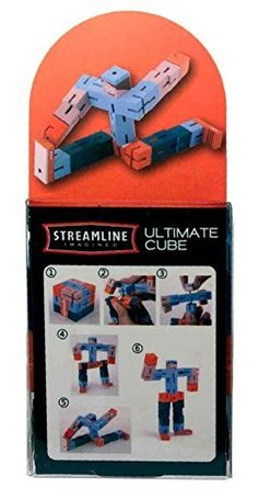 Ultimate Wooden Robot Cube