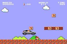 Super Mario agora ajuda a vender carros da Mercedes-Benz – veja o comercial - Blue Bus