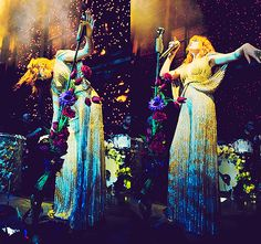 florence welch. she is something else. nothing on this earth can compare to the vocals she let's loose.