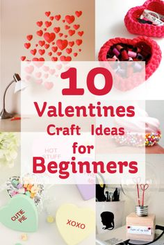 Valentines Craft Ideas for Beginners #Valentines