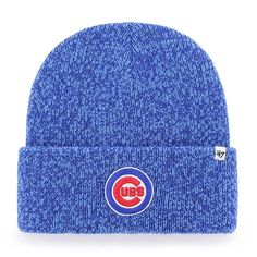 Chicago Cubs Royal Brain Freeze Cuffed Knit    #ChicagoCubs  #Cubs  #MLB  #EverybodyIn