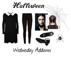 """""""Last Minute Halloween Costume"""" by velvetmahya ❤ liked on Polyvore featuring WearAll and Pierre Hardy"""