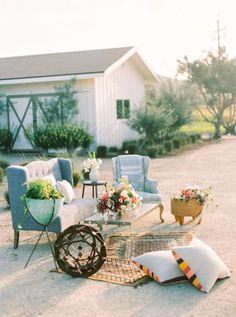 ¿Quieres una decoración de boda diferente? Alfombras y tapices para una celebración muy folk Image: 3