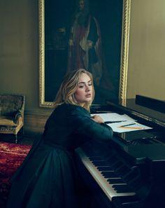 "rihftzayn: "" Adele photographed by Annie Leibovitz, Vogue, March 2016 """
