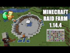 Minecraft Easy RAID FARM lots of loot! Hey guys in this video I show you how to make a raid farm. This farm is designed by Rays Works, This is his cha. Minecraft Redstone, Minecraft Cheats, Minecraft Farm, Minecraft Plans, Minecraft Survival, Minecraft Construction, Minecraft Tutorial, Minecraft Blueprints, Minecraft Creations