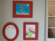 A New Way to Display Kids' Art