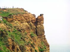 Cracked Cliff - Isle of Wight