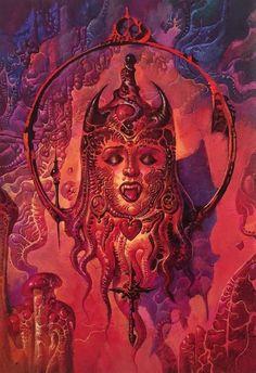 Abrams Books, 70s Sci Fi Art, Pretty Art, Book Art, Painting, Twitter, Painting Art, Paintings, Painted Canvas