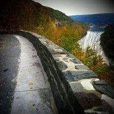 Hawk's Nest on Route 97, scenic view over the Delaware River on your way to our Pond Eddy and Barryville, NY locations for camping, canoeing, kayaking, rafting, paintball or ziplining!!