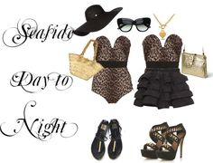 """""""Day to Night - Leopard Print and Handbags"""" by lisbethusala on Polyvore"""