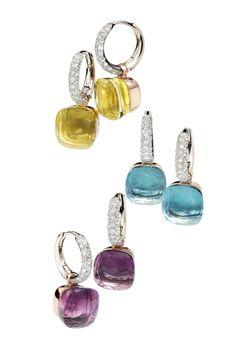 Pomellato Nudo Earrings with Diamonds | Oster Jewelers