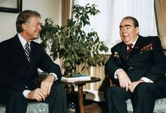 During the may 1972 meeting between nixon and brezhnev however a rezhnev and carter at salt ii talks soviet president leonid brezhnev and president jimmy carter platinumwayz