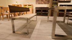 next-feketedió-fa-tömörfa-fém-pad-szék Fa, Modern, Dining Table, Furniture, Home Decor, Trendy Tree, Decoration Home, Room Decor, Dinner Table