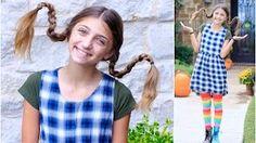 Pippi Longstocking! Cute Girls Hairstyles - YouTube