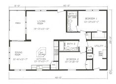 plain small open floor plans images about plan on pinterest and