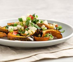 Five-Ingredient Fall Salads: Food & Diet: Self.com : These sweet-and-savory cool-weather combinations serve up the robust and healthful flavors of fall in just a handful of steps. via @SELF Magazine