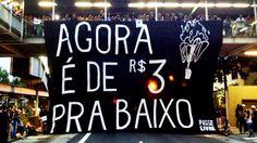 SP: protesto do Passe Livre termina em arruaça no metrô - Brasil - Notícia - VEJA.com