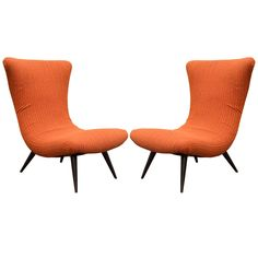 Mid Century Retro Vintage Pair of Lounge Armchairs Arm Chairs By The Karpen Company   Pinned by 360 Modern Furniture