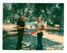 Ed and Ken Headrick with their Friz Pole Hole installed in Oak Grove Park March Disc Golf Basket, Disc Golf Courses, Sports Today, Grove Park, Woods Golf, Beautiful Park, Promotional Events, Golf Fashion, Play Golf