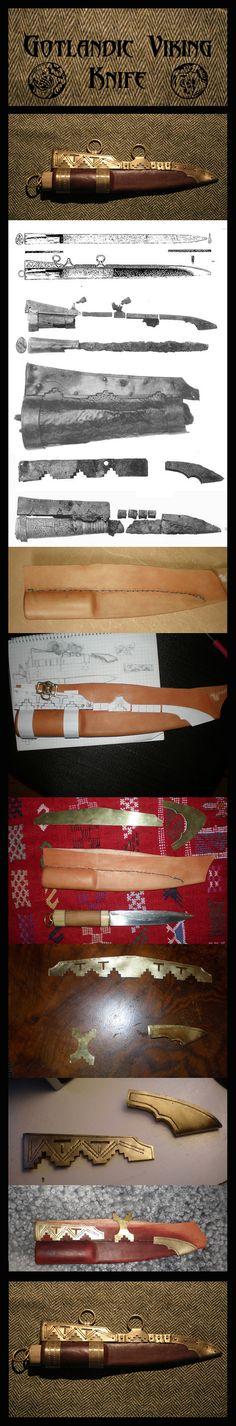 Gotlandic Viking Knife by ~VendelRus