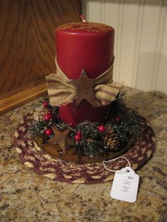 Christmas Candle..