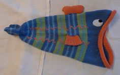 Ravelry: Project Gallery for Fish Hat [Dead or Alive?] pattern by Thelma Egberts