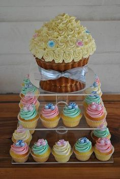 Cupcake Tower by The Cupcake House - www.cakeappreciationsociety.com