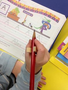 World's most accessible adaptive pencil grip! This also didn't work for kiddo Preschool Writing, Kids Writing, Preschool Classroom, Preschool Learning, Educational Activities, Preschool Crafts, Toddler Activities, Learning Activities, Teaching Babies